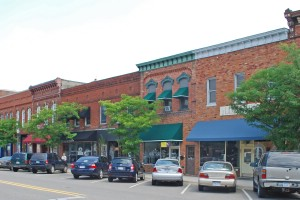 Holly, MI downtown