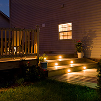 Deck Accessories in Metro Detroit: Lighting & More | MGE Carpentry - lights