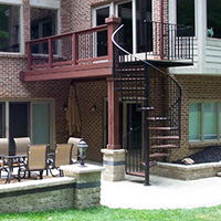 Deck Accessories in Metro Detroit: Lighting & More | MGE Carpentry - spiral