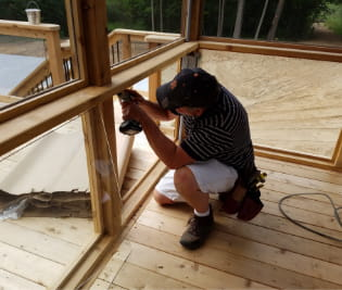Custom Built Decks in Metro Detroit: TrexPro Platinum | MGE Carpentry - about-content2